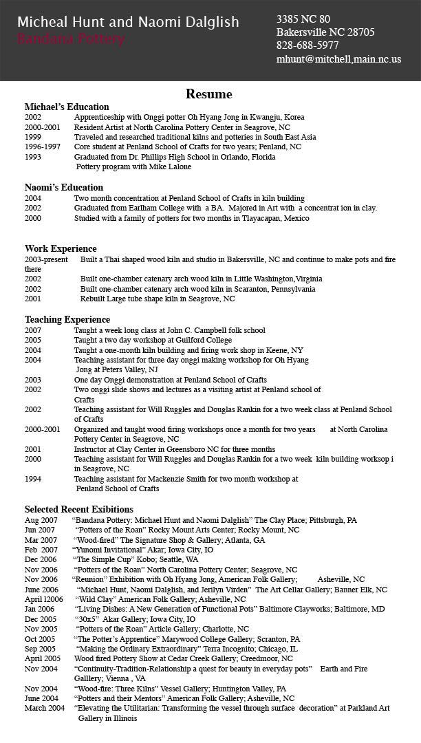 Resume Html